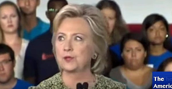 Clinton's Eye's Go Crazy During Philly Speech Before Cancelling Event